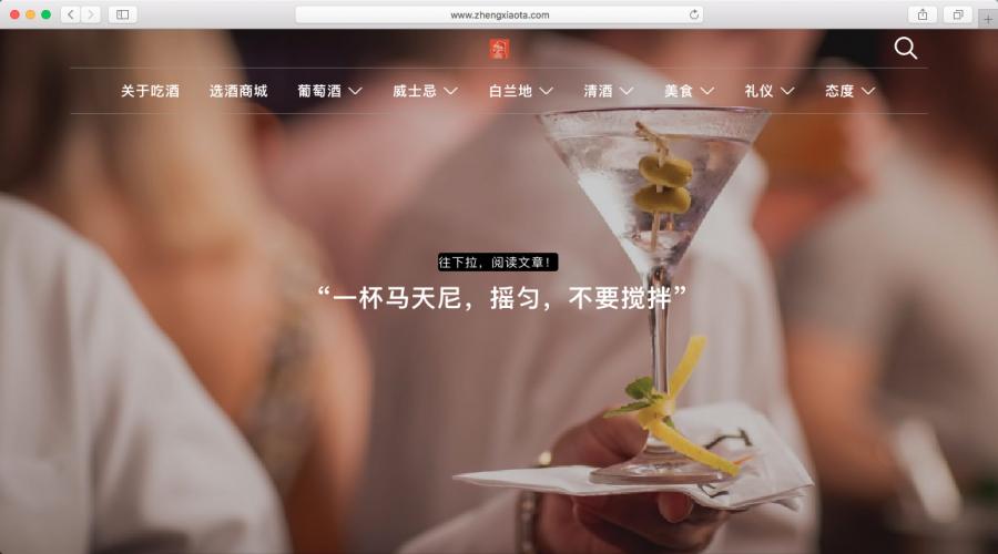 《快速成为吃酒专家!》| 网站建设